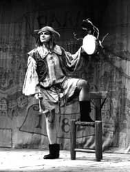 Photo of a character from the play The Hunchback of Notre Dame.