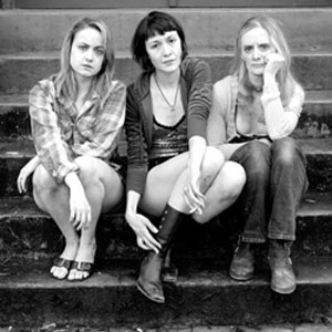 Photo of three actresses from On the Farm.