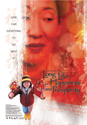 Poster from the film Long Life, Happiness and Prosperity
